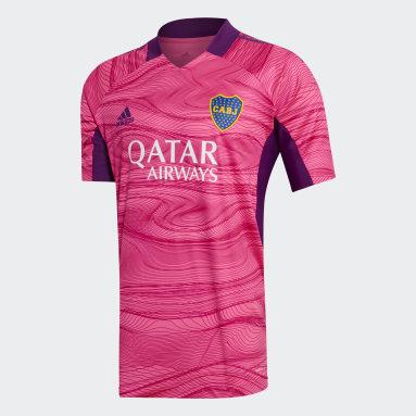 Camiseta de Arquero Boca Juniors 21/22 Rosa Hombre Fútbol