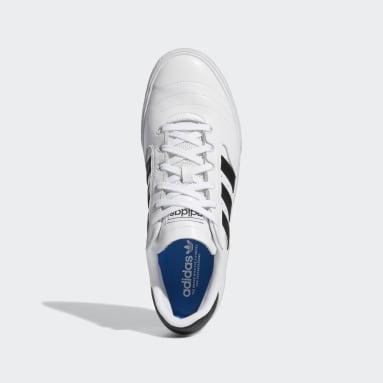 Men Originals White Busenitz Vulc II Shoes