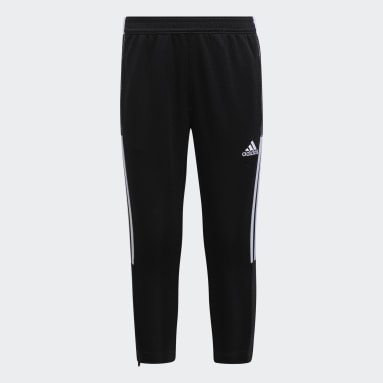 Boys Lifestyle Black Tiro 21 Pants