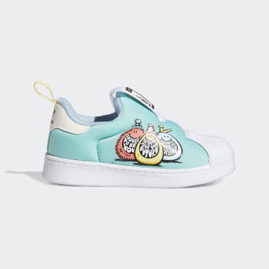 Infants Originals Blue adidas x Kevin Lyons Superstar 360 Shoes