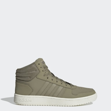 Basketball Green Hoops 2.0 Mid Shoes