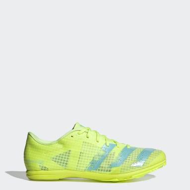 Frauen Leichtathletik Distancestar Spike-Schuh Gelb