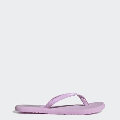 Women Swimming Purple Eezay Flip-Flops