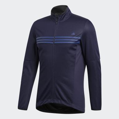 Chaqueta Warmtefront Azul Hombre Ciclismo