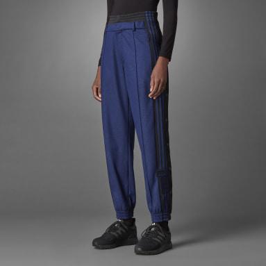 Ženy Originals modrá Sportovní kalhoty Blue Version Wool Adibreak