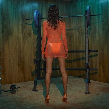 Women Originals Orange Swim Cover-Up Dress