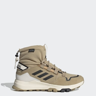 Zapatilla Terrex Hikster Mid COLD.RDY Hiking Beige Mujer TERREX