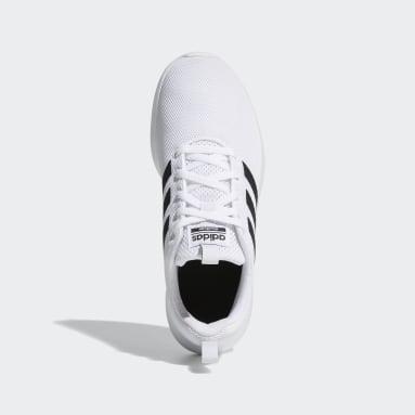 Kids Essentials White Lite Racer CLN Shoes