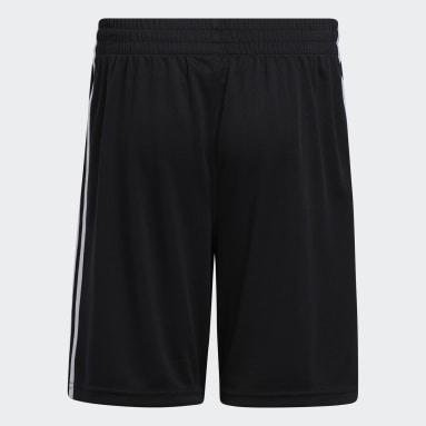 Children Training Black Classic 3-Stripes Shorts