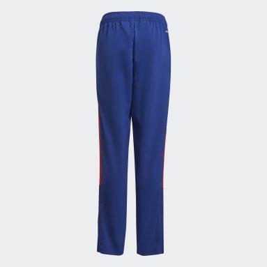 Pantalon de présentation Olympique Lyonnais Tiro Bleu Enfants Football