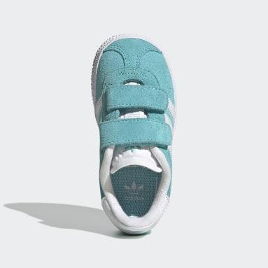 Sapatos Gazelle Turquesa Criança Originals