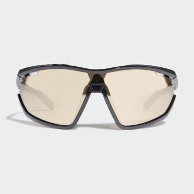 Gafas de sol Sport SP0002 Shiny Black Injection Negro Running