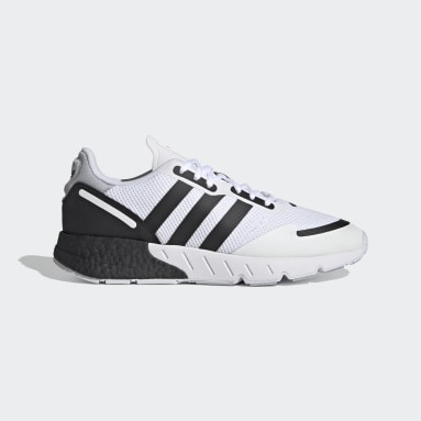 Men's Originals White ZX 1K Boost Shoes