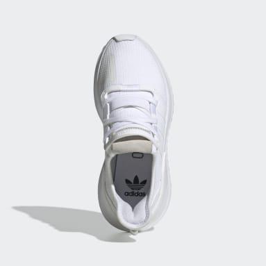 Youth 8-16 Years Originals White U_Path Run Shoes