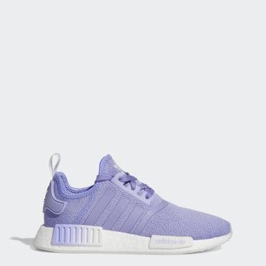 Women Originals Purple NMD_R1 Shoes