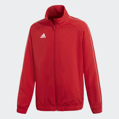 Kids Gym & Training Red Core 18 Presentation Track Top