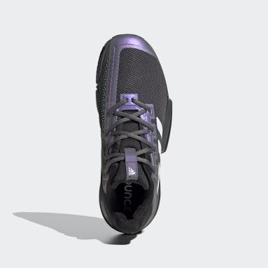 SoleMatch  Zapatillas Bounce Clay Negro Hombre Tenis