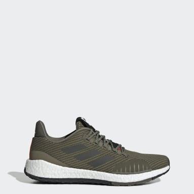 Men's Running Green Pulseboost HD Winter Shoes