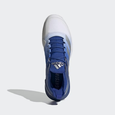 Adizero Ubersonic 4 Tennis Shoes Niebieski