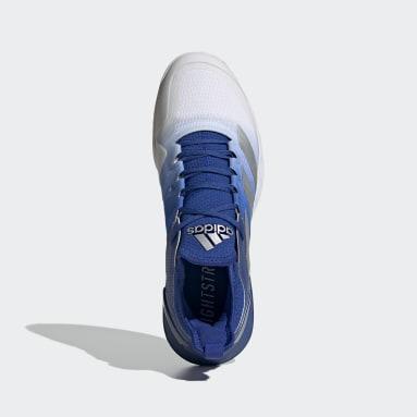 Tennis Adizero Ubersonic 4 Tennisschuh Blau