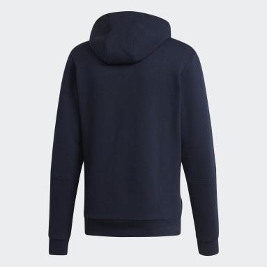 Herr Sportswear Blå Hoodie