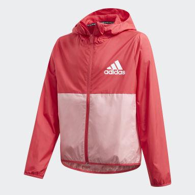 Girls Gym & Training Pink Must Haves Windbreaker