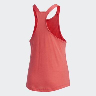 Girls Fitness Og Træning Pink Brilliant Basics tanktop