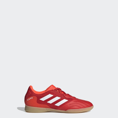 Children Soccer Red Copa Sense.3 Indoor Sala Shoes