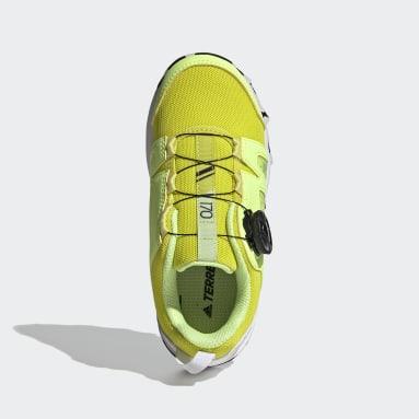 Terrex Boa Hiking Shoes Żółty