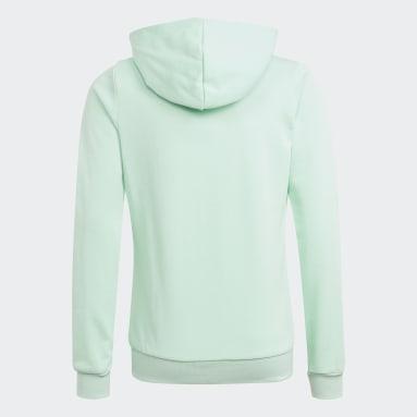Girls Sport Inspired Turquoise adidas Essentials Full-Zip Hoodie