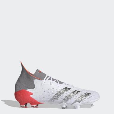 Football White PREDATOR FREAK .1 FG