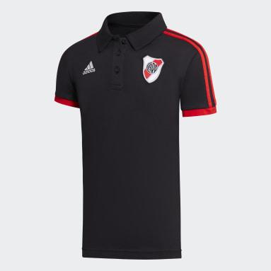 Chomba River Plate 3 Tiras Negro Mujer Fútbol