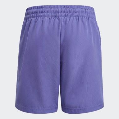 Boys Tennis Purple Club Tennis Shorts