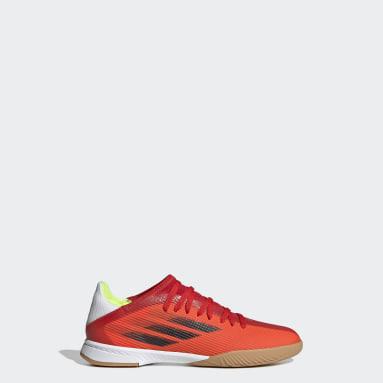 Scarpe da calcio X Speedflow.3 Indoor Rosso Bambini Futsal
