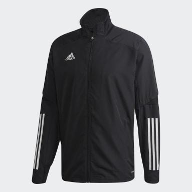 Men Gym & Training Black Condivo 20 Presentation Jacket