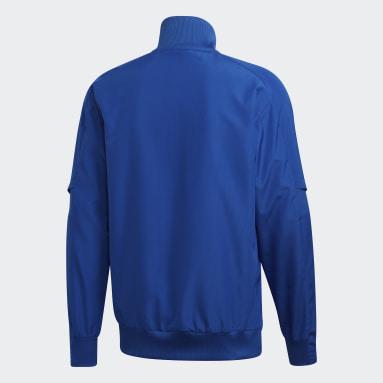 Men Gym & Training Blue Condivo 20 Presentation Jacket
