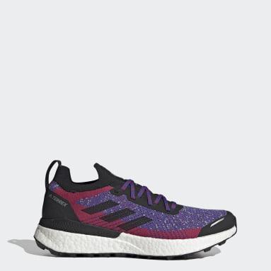 Men's TERREX Red Terrex Two Ultra Primeblue Trail Running Shoes
