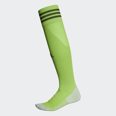 Calcetines AdiSocks con largo a la rodilla (UNISEX) Verde Fútbol