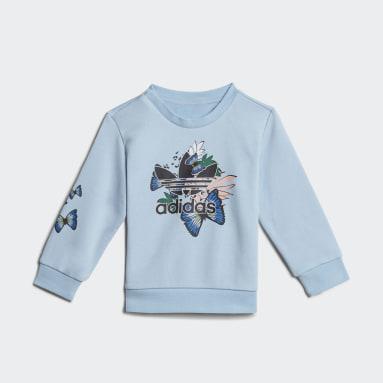 Conjunto Sudadera HER Studio London Estampado Animal y Floral Azul Niña Originals