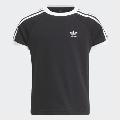 Kinderen Originals Zwart Adicolor 3-Stripes T-shirt