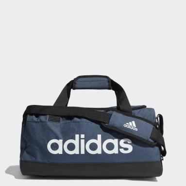 Maleta Deportiva Essentials Logo Extra Pequeña Azul Training