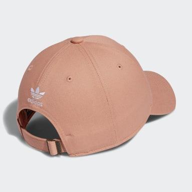 Men's Originals Pink Relaxed Strap-Back Hat