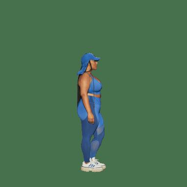 Women's Originals Blue Tights (Plus Size)
