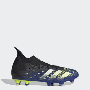 Fodbold Sort Predator Freak.3 Soft Ground støvler