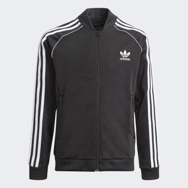 Youth Originals Black Adicolor SST Track Jacket