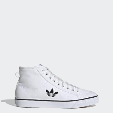 Originals White Nizza Hi Shoes