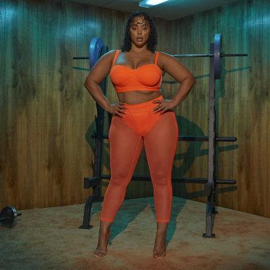 Women Originals Orange Swim Leggings (Plus Size)