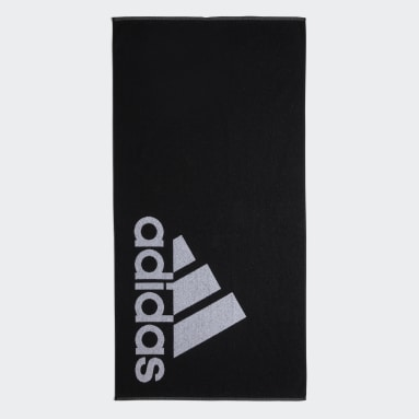Ręcznik adidas Large Czerń
