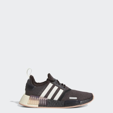 Youth Originals Brown NMD_R1 Shoes