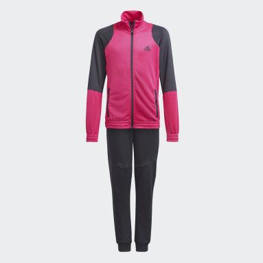 Girls Gym & Training Pink XFG AEROREADY Track Suit